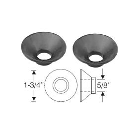 1941 1942 1946 1947 1948 1949 1950 1951 1952 1953 1954 1955 1956  1957 1958 1959 1960 Cadillac Rubber Tie Rod End Dust Covers 1 Pair REPRODUCTION