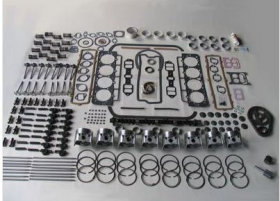 1963 Cadillac 390 Engine Deluxe Rebuild Kit REPRODUCTION Free Shipping In The USA