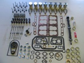 1937 1938 1939 1940 Cadillac LaSalle 322 Engine Deluxe Rebuild Kit REPRODUCTION Free Shipping In The USA
