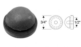 Cadillac Trunk Floor Pan Rubber Plug REPRODUCTION