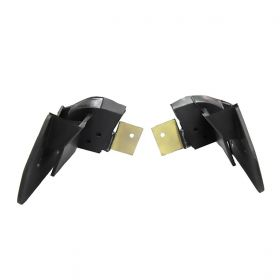1963 1964 Cadillac Convertible Top Rear Quarter Window Filler Rubber Weatherstrips 1 Pair REPRODUCTION Free Shipping In The USA