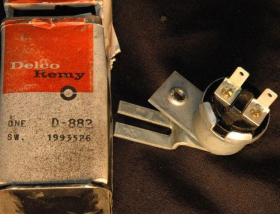 1961 Except Series 75 Cadillac Cruise Control Brake Light Switch NOS Free Shipping In The USA