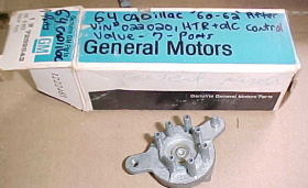 1964 Cadillac(After Vin 0220201) A/C Rotary Select Vacuum Valve 7 port NOS Free Shipping In The USA