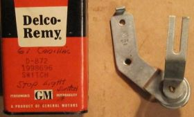 1959 1960 All & 1961 Series 75 & CC Only Cadillac Cruise Control Brake Light Switch NOS Free Shipping In The USA