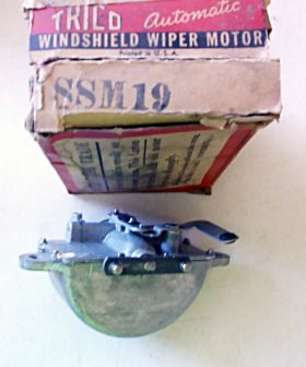 1940 Cadillac Closed and Convertible Series 62 and Series 72 Winshield Wiper Motor NOS Free Shipping In The USA