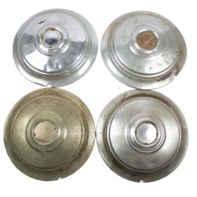 1940 Cadillac 16 Inch Wheel Cover Hub Cap Set (4 Pieces) USED