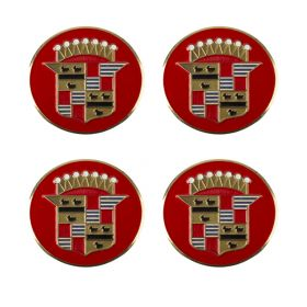 1941 1942 1946 Cadillac Wheel Cover Hubcap Medallion Set (4 Pieces) REPRODUCTION Free Shipping In The USA