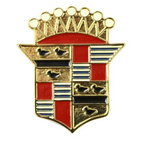 1941 Cadillac Trunk Crest Emblem REPRODUCTION Free Shipping In The USA