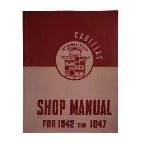1942 1946 1947 Cadillac Shop Manual REPRODUCTION Free Shipping In The USA