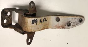 1959 1960 Cadillac Right  Passengers Side Front Door Lower Hinge USED Free Shipping in the USA