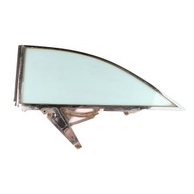 1959 1960 Cadillac 2 Door Hardtop Right Passenger Side Rear 1/4 Window Frame with Glass USED Free Shipping In The USA