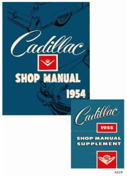 1954 1955 Cadillac All Models Service Manual CD REPRODUCTION Free Shipping In The USA
