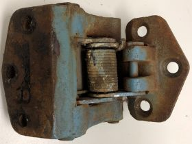 1957 1958 Cadillac Left Drivers Side Rear Door Lower Hinge USED Free Shipping in the USA