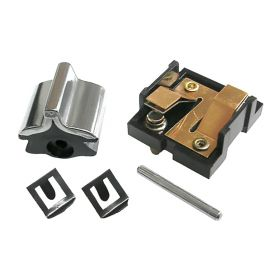 1958 Cadillac (EXCEPT Series 75 Limousine) Front Door Lock Switch Kit (Center Notch) REPRODUCTION Free Shipping In The USA