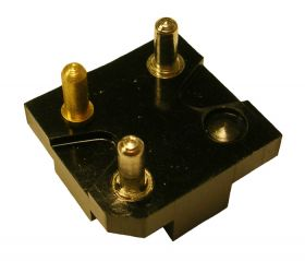 1959 Cadillac Front Door Electronic Lock Switch Base (Corner Cut) REPRODUCTION Free Shipping In The USA