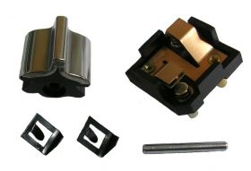 1959 Cadillac Front Door Electronic Lock Switch Kit (Corner Cut) REPRODUCTION Free Shipping In The USA
