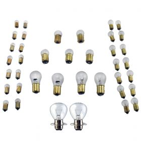 1947 1948 1949 1950 1951 1952 Cadillac 6-Volt Light Bulb Replacement Kit (WITH Fog Bulbs) (27 Pieces) REPRODUCTION Free Shipping In The USA