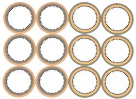 1941 1942 1946 1947 1948 1949 1950 1951 1952 1953 1954 1955 Cadillac HydraMatic Transmission Clutch Plate Set 12 Pieces REPRODUCTION Free Shipping In The USA