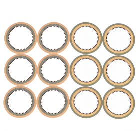1941 1942 1946 1947 1948 1949 1950 1951 1952 1953 1954 1955 Cadillac HydraMatic Transmission Clutch Plate Set (12 Pieces) REPRODUCTION Free Shipping In The USA