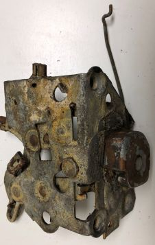 1957 1958 Cadillac Sedan Models Right Rear Door Lock Assembly USED Free Shipping In The USA