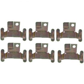 1959 1960 Cadillac Side Windshield Clips Set (6 Pieces) REPRODUCTION Free Shipping In The USA