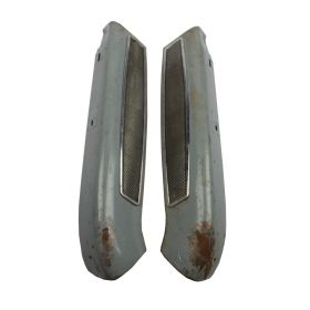 1960 Cadillac Series 60 Special And Series 62 Convertible Front Seat Back Moldings 1 Pair USED Free Shipping In The USA