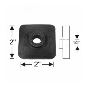 1936 1937 1938 1939 1940 1941 1942 1946 1947 1948 1949 1950 1951 Cadillac Body Mount Rubber Pad REPRODUCTION