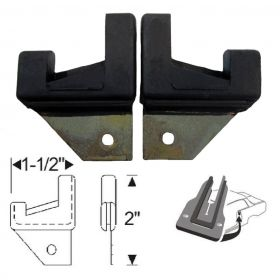 1954 1955 1956 Cadillac 2-Door Hardtops Lock Pillar Seals 1 Pair REPRODUCTION Free Shipping In The USA
