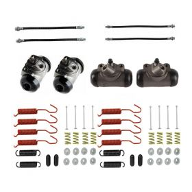 1950 1951 1952 1953 1954 1955 1956 Cadillac (See Details) Standard Drum Brake Kit (56 Pieces) REPRODUCTION Free Shipping In The USA