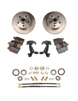 1956 Cadillac Basic Rotor Front Disc Brake Conversion Kit NEW
