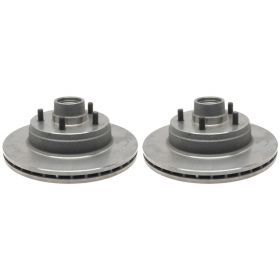 1978 1979 1980 1981 1982 1983 1984 1985 1986 1987 1988 1989 Cadillac Deville and Fleetwood (See Details) Front Brake Rotor And Hub Assemblies 1 Pair REPRODUCTION