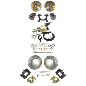 1950 1951 1952 1953 1954 1955 Cadillac Front and Rear Disc Brake Conversion Kit With Booster and Master Cylinder  NEW