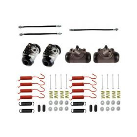 1950 1951 1952 1953 1954 1955 1956 Cadillac (See Details) Standard Drum Brake Kit (55 Pieces) REPRODUCTION Free Shipping In The USA
