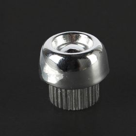 1952 1953 1954 1955 Cadillac Chrome Gear Shift Knob Cap REPRODUCTION Free Shipping In The USA