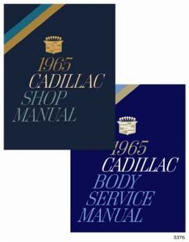 1965 Cadillac All Models Service Manual CD REPRODUCTION Free Shipping In The USA