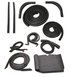 1953 Cadillac 2-Door Hardtop Basic Rubber Kit (16 Pieces) REPRODUCTION Free Shipping in the USA