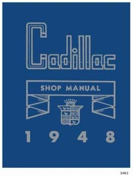 1948 Cadillac All Models Service Manual CD REPRODUCTION Free Shipping In The USA