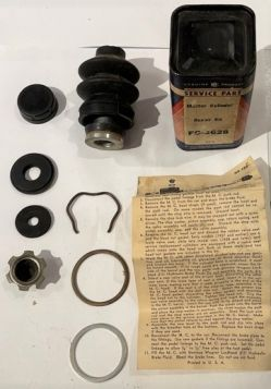 1936 1937 1938 1939 1940 Cadillac (See Details) Master Cylinder Rebuild Kit New Old Replacement Stock Sealed Cans Free Shipping In The USA