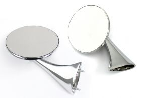 1954 1955 Cadillac Exterior Rear View Mirrors (Best Fit Available) 1 Pair REPRODUCTION Free Shipping In The USA