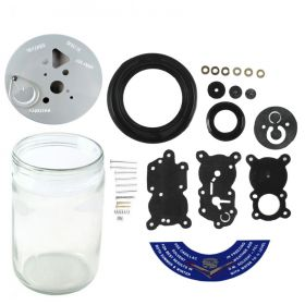 1956 1957 1958 Cadillac Windshield Washer And Pump Rebuild Kit (31 Pieces) REPRODUCTION Free Shipping In The USA
