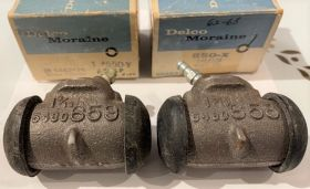 1962 1963 1964 1965 1966 1967 1968 CADILLAC (SEE DETAILS) FRONT WHEEL CYLINDERS 1 PAIR New Old Stock  FREE SHIPPING IN THE USA