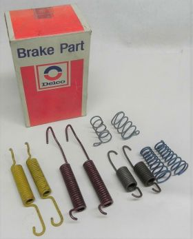 1969 1970 1971 1972 1973 1974 Cadillac Drum Brake Hardware Kit 10 Pieces NOS Free Shipping In The USA