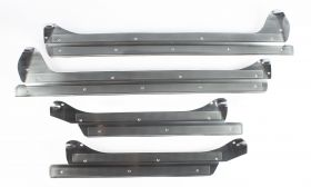 1955 1956 Cadillac 4-Door Series 62 and Series 60 Special Door Sill Plate Set 4 Pieces REPRODUCTION