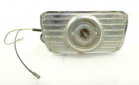 1955 Cadillac Parking /Turn Signal Round Lens Chrome Housing Door USED Free Shipping In The USA