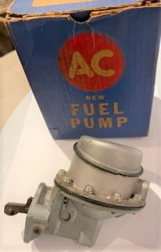 1957 CADILLAC FUEL PUMP WITH SLANT TOP New Old Stock FREE SHIPPING IN THE USA