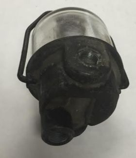 1958 1959 1960 1961 1962 1963 1964 1965 1966 1967 Cadillac WITH Air Conditioning Glass Bowl Fuel Filter Assembly USED Free Shipping In The USA