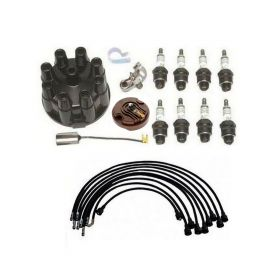 1959 1960 Cadillac (EXCEPT Tri-Power) Deluxe Tune Up Kit With Spark Plug Wires (20 Pieces) REPRODUCTION Free Shipping In The USA