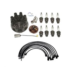 1963 1964 Cadillac Deluxe Tune Up Kit With Spark Plug Wires (20 Pieces) REPRODUCTION Free Shipping In The USA