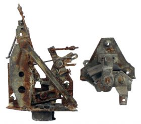 1956 Cadillac Series 62 DeVille Sedan Right Rear Door Lock Assembly USED Free Shipping In The USA