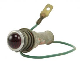 1956 Cadillac Convertible Top switch Light USED Free Shipping (See Details)
